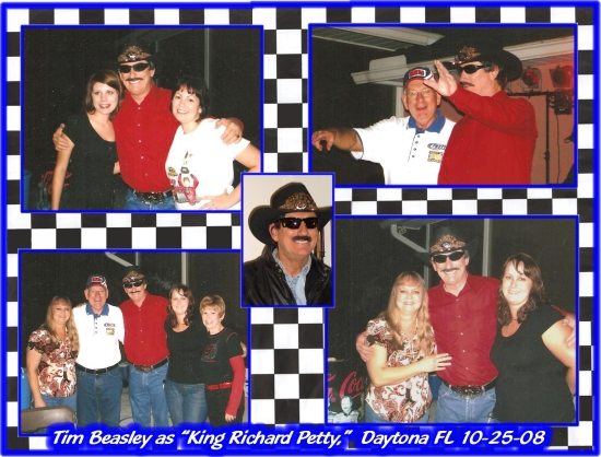 Richard Petty Impersonator Daytona Beach, FL