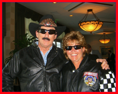 Richard Petty Impersonator