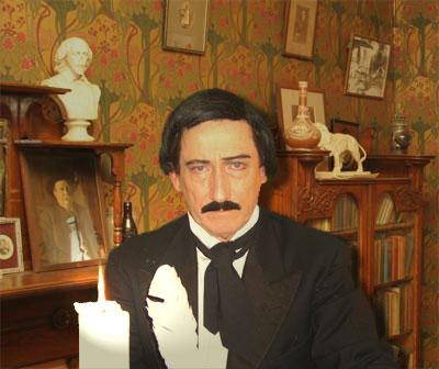Edgar Allan Poe Impersonator