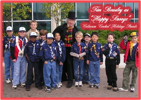 Scrooge With The Boy Scouts