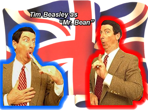 Mr. Bean Impersonator