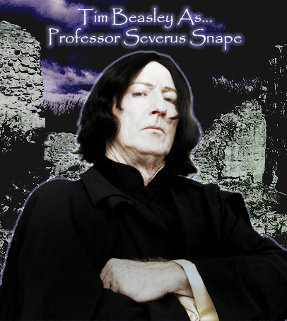 Professor Snape Impersonator